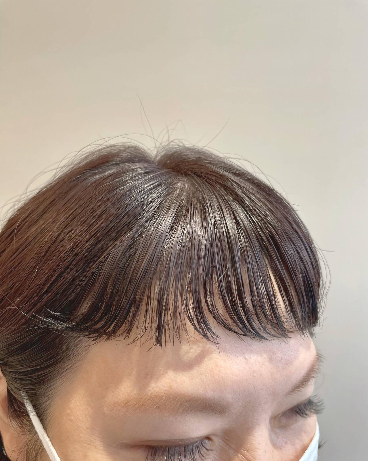 パーマボブ ボブ 前髪 ショートボブヘアスタイルや髪型の写真・画像