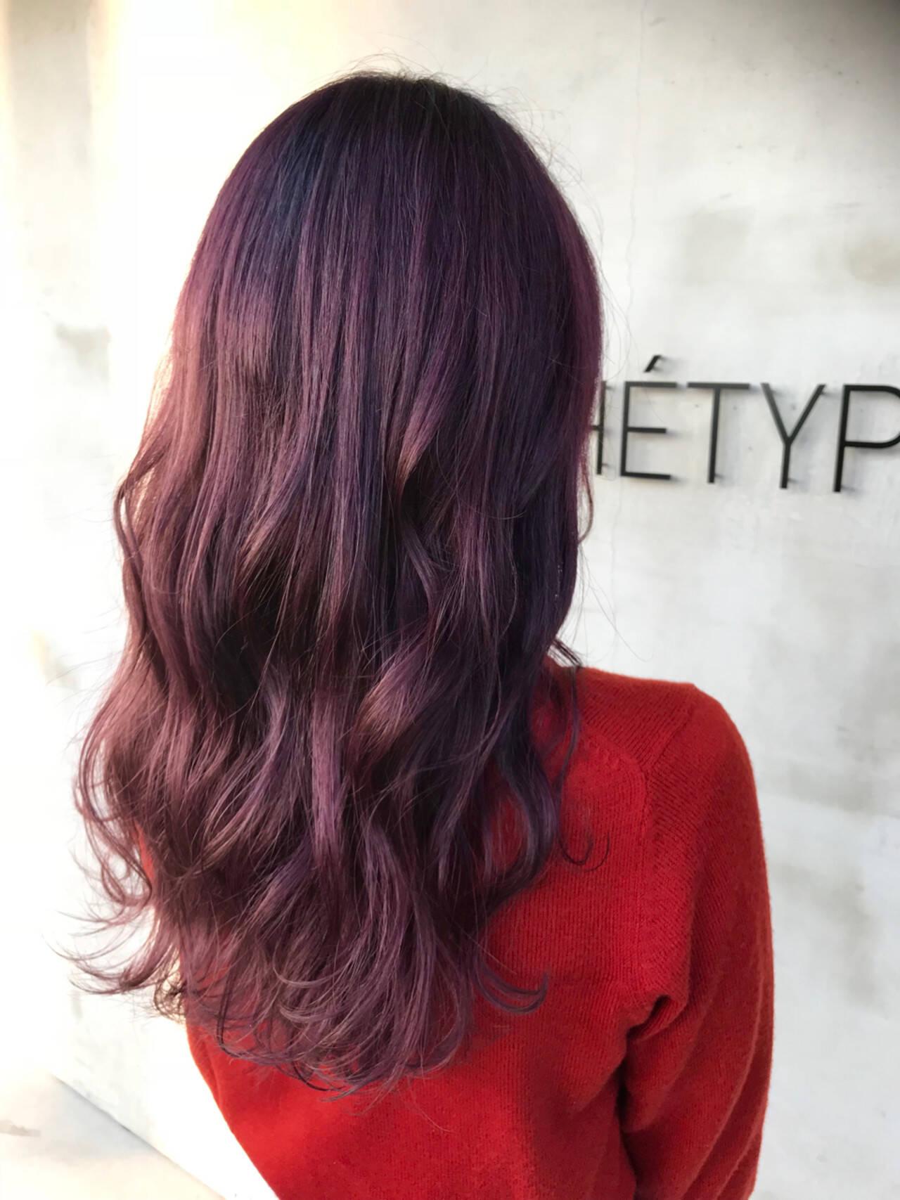 フェミニン ロングヘアスタイルや髪型の写真・画像