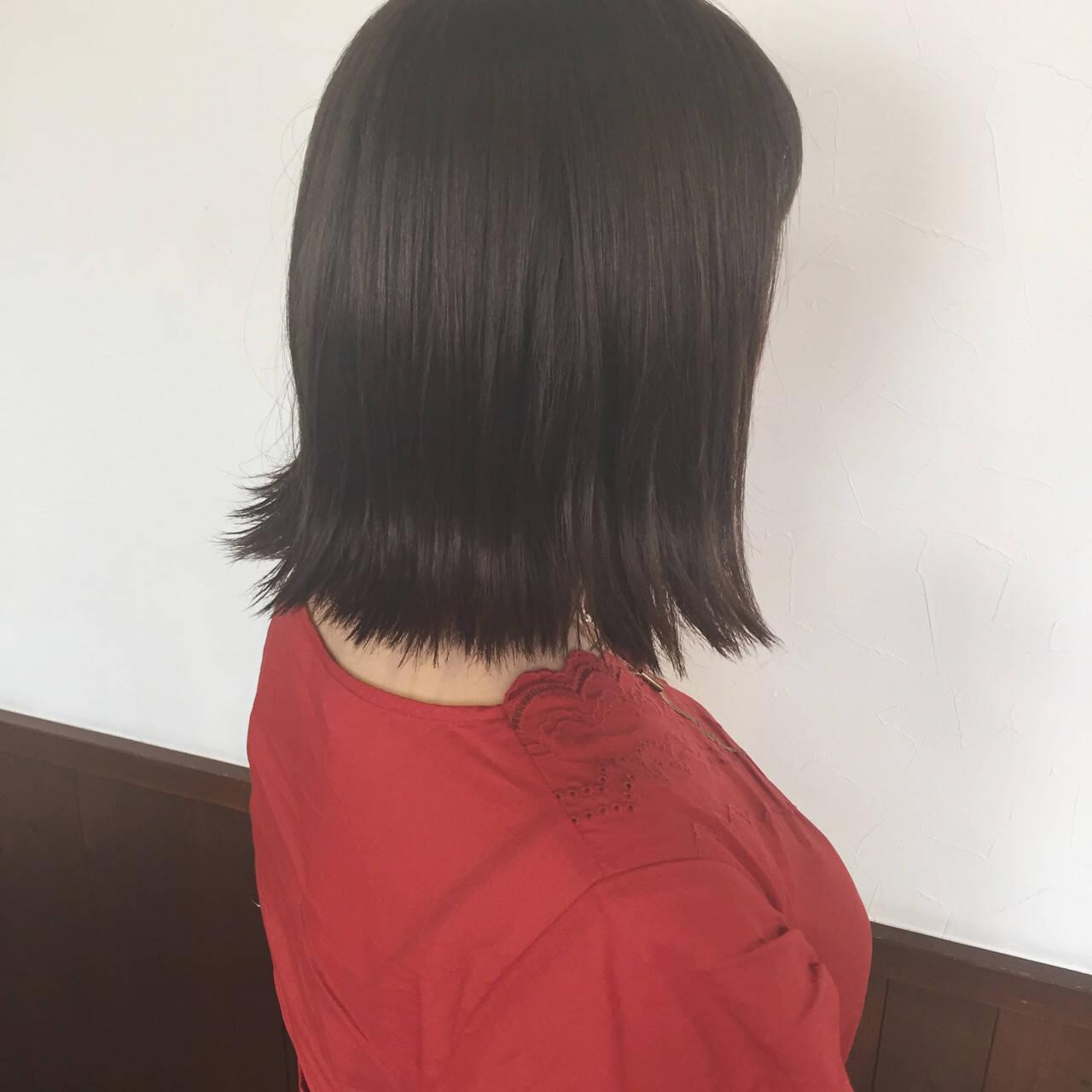 涼しげ 女子会 イルミナカラー ナチュラルヘアスタイルや髪型の写真・画像