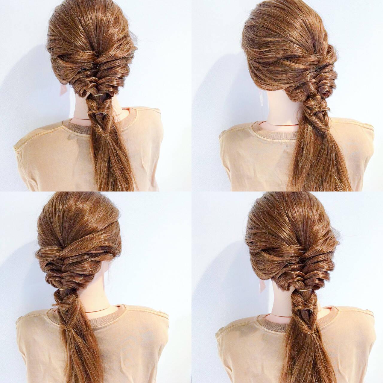 涼しげ アウトドア 女子会 エレガントヘアスタイルや髪型の写真・画像