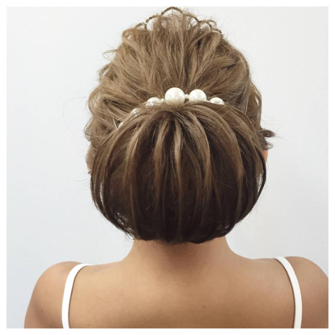 大人かわいい ロング 外国人風 ヘアアレンジヘアスタイルや髪型の写真・画像