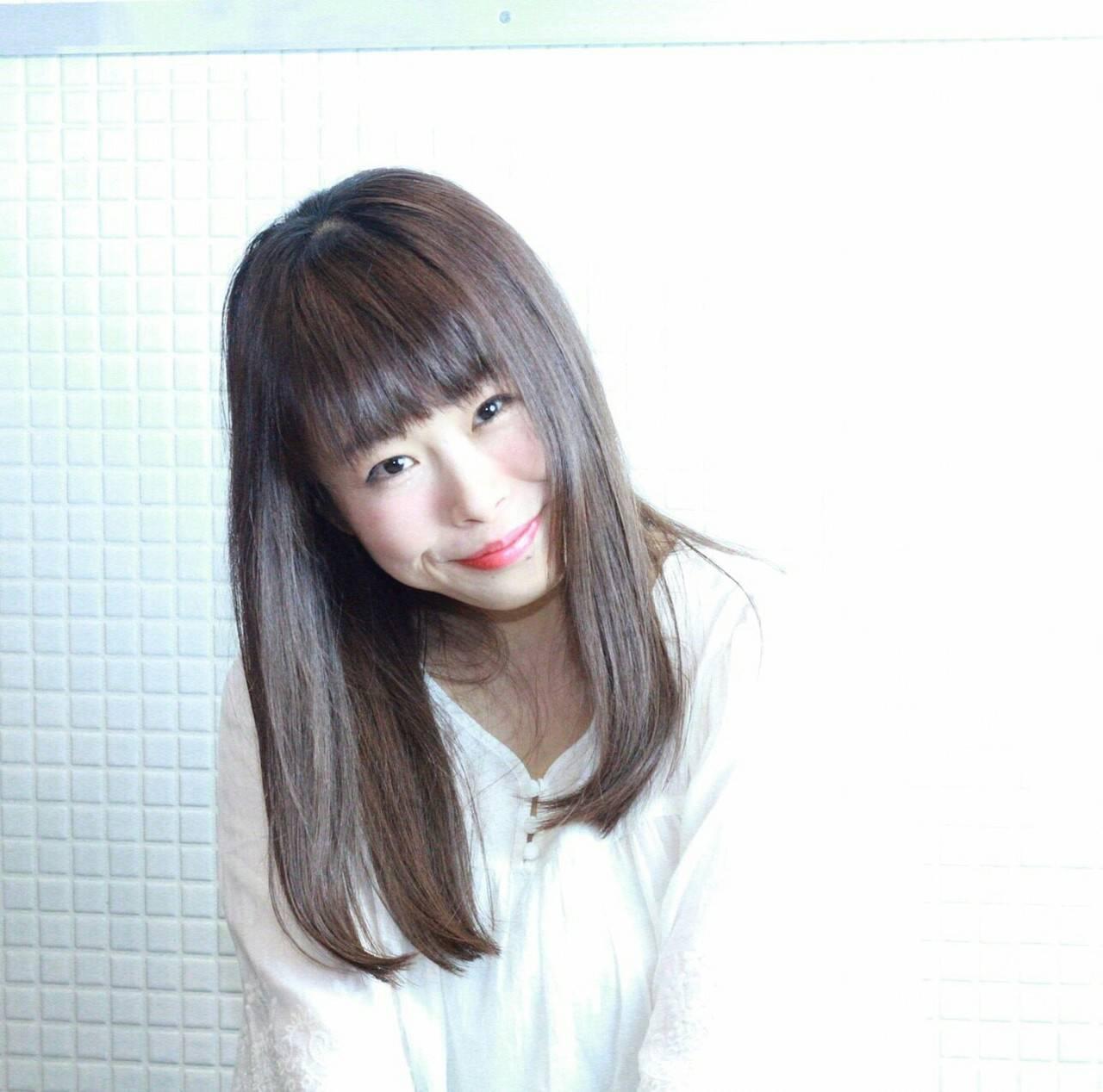 暗髪 ナチュラル ゆるふわ 可愛いヘアスタイルや髪型の写真・画像