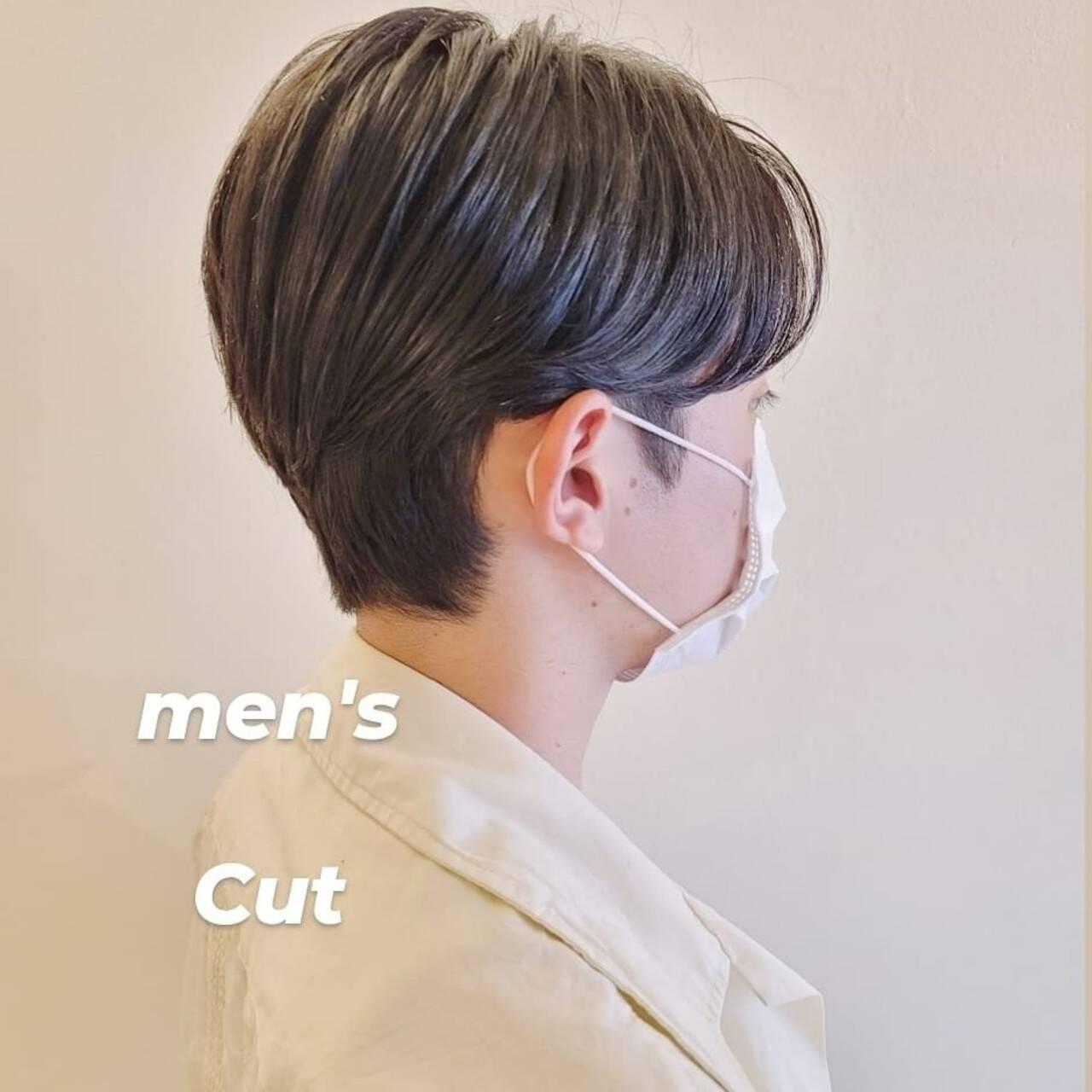 ショートヘア メンズヘア メンズショート ハンサムショートヘアスタイルや髪型の写真・画像