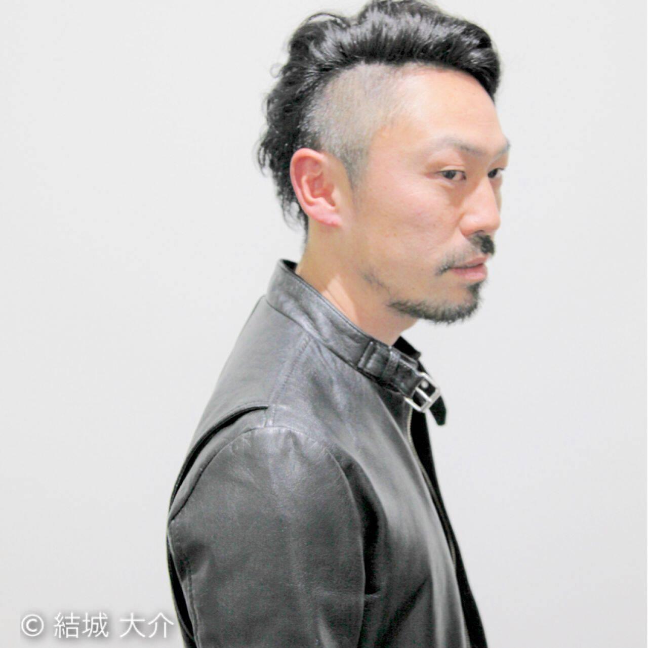 パーマ ボーイッシュヘアスタイルや髪型の写真・画像