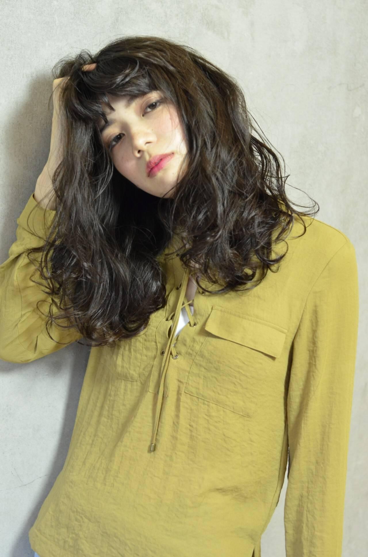 大人女子 上品 エレガント 冬ヘアスタイルや髪型の写真・画像