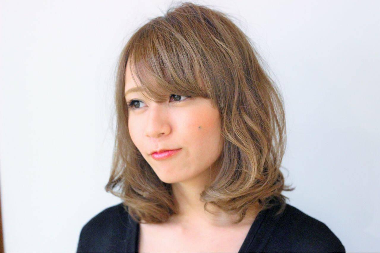大人かわいい ゆるふわ コンサバ モテ髪ヘアスタイルや髪型の写真・画像