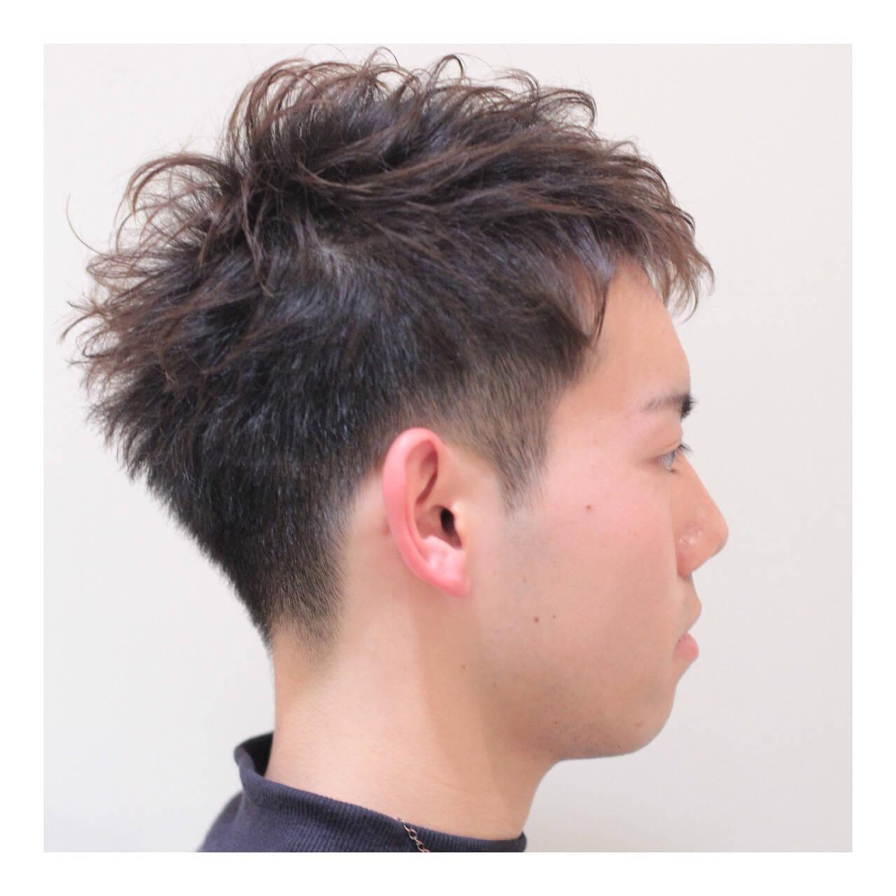 メンズ ショート ボーイッシュ ナチュラルヘアスタイルや髪型の写真・画像