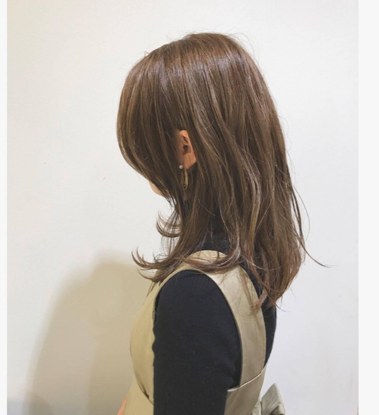 ウェットヘア 外国人風 外国人風カラー グラデーションカラーヘアスタイルや髪型の写真・画像