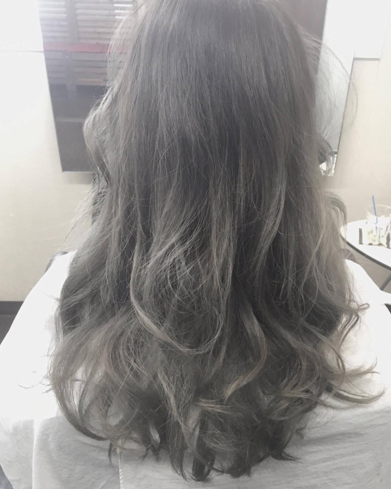 フェミニン エレガント ロング 夏ヘアスタイルや髪型の写真・画像