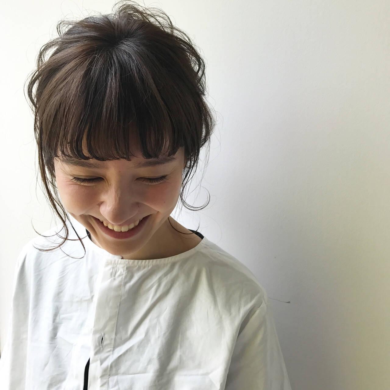 結婚式 ヘアアレンジ 秋 簡単ヘアアレンジヘアスタイルや髪型の写真・画像