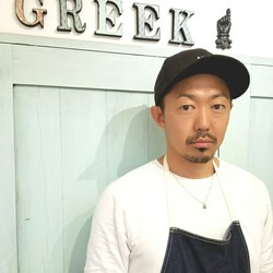 川田 義人 GREEK hairdesign